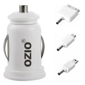 奥舒尔平板电脑及手机车载充电器 | 双USB接口